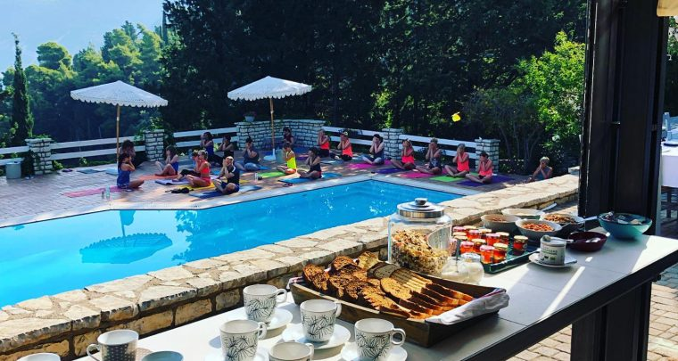 Yoga retreat in the Ionian Paradise